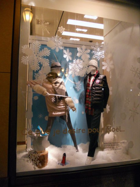 The Holt Renfrew Holiday windows were very beautiful.