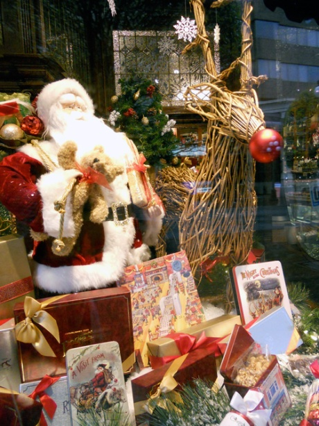 Always two of my favourite festive windows every year are at Rogers Chocolates on Government Street.
