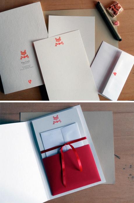 Fox Love Stationery Set