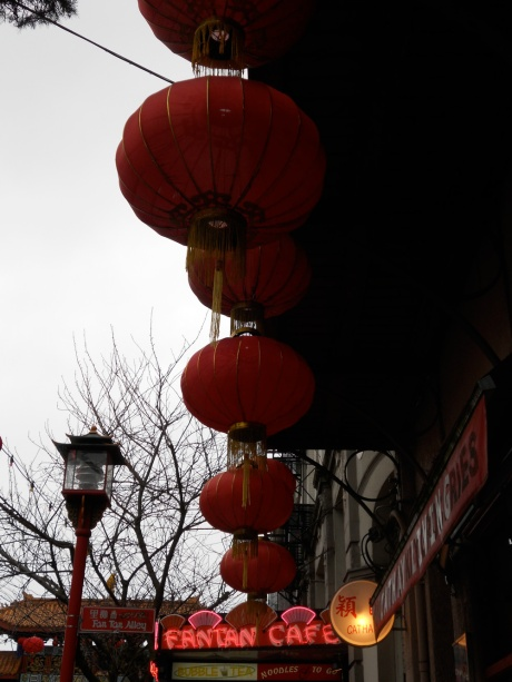 500 block Fisgard Street, the heart of Chinatown.