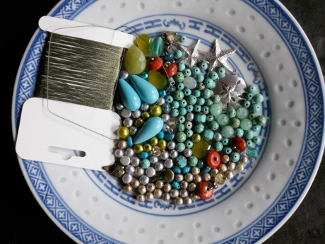 Sea tones with silver castings by Steven Mehle.