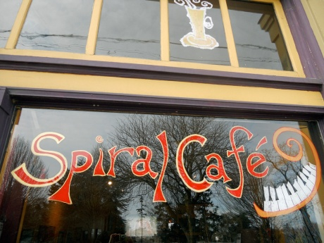 The Spiral Cafe: a great venue for local music and art.