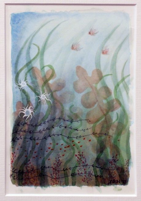 Ocean Garden III, Denise Nicholls, 2013