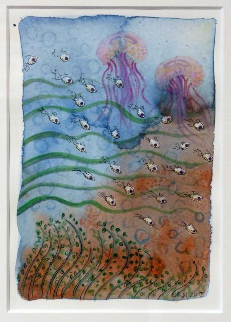 Ocean Garden IV, Denise Nicholls, 2013