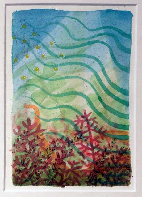 Ocean Garden VI, Denise Nicholls, 2013