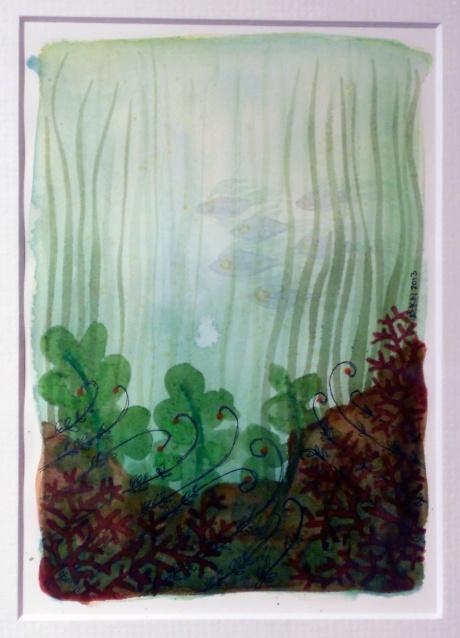 Ocean Garden VII, Denise Nicholls, 2013