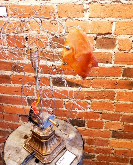 Chew, kinetic sculpture by GJ Pearson.