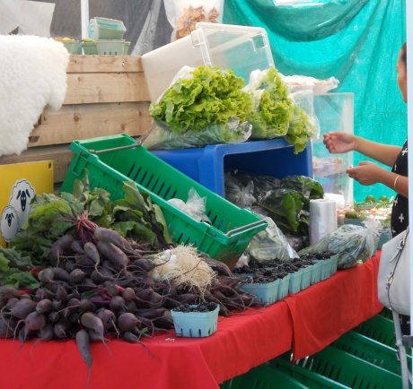 ... and lots of produce!