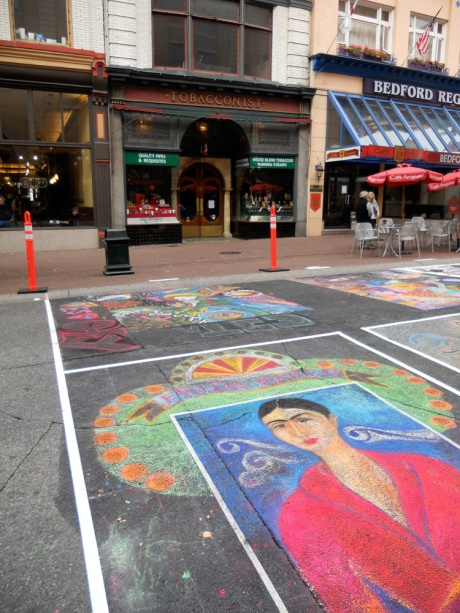 From the recent Victoria International Chalk Art Festival.