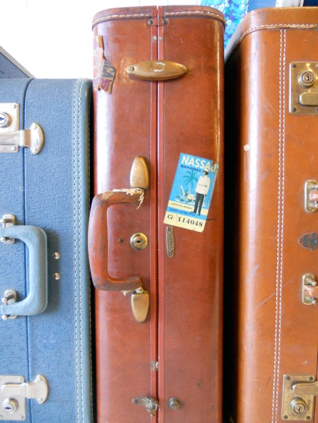 A new consignment clothing store called Duchess & Duke has just opened on Government Street. They have an amazing collection of vintage suitcases (sadly not for sale.)