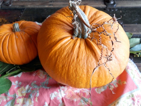 Pumpkins, pre-roast.