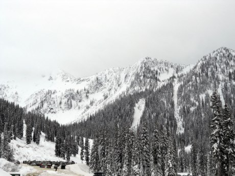 Whitewater Ski Resort, just a 20-minute drive from Nelson BC.