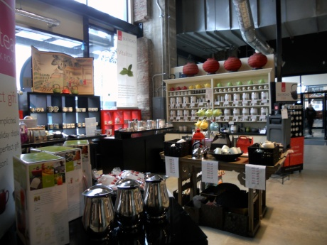 Silk Road Tea's satellite shop is located at the Public Market.