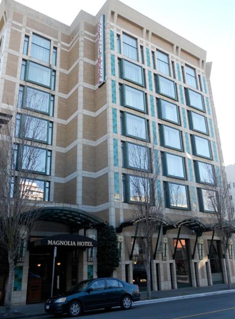 The Magnolia Hotel, Victoria BC.