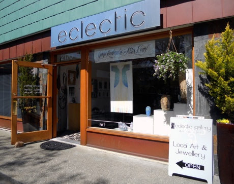 Eclectic Gallery, 2170 Oak Bay Avenue, Victoria BC.