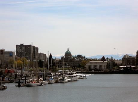 Victoria BC Inner Harbour.