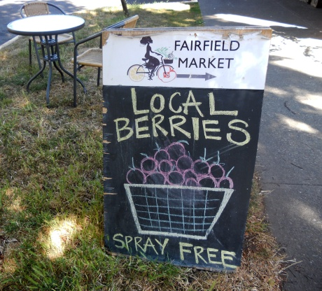 … specializing in local produce and products.