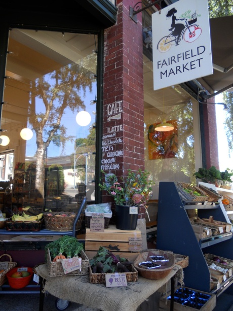 The lovely Fairfield Market on Oscar near the corner at Moss Street…