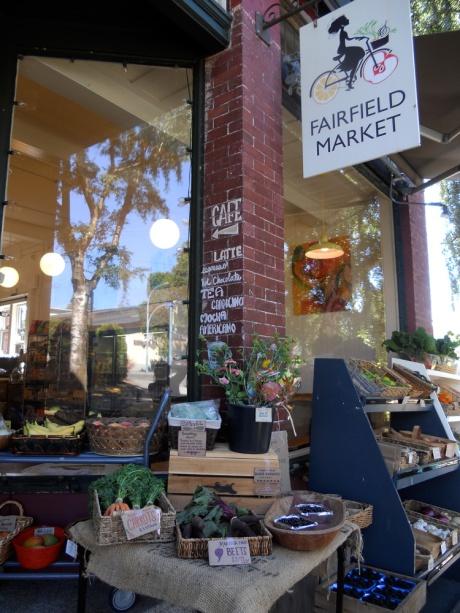 The lovely Fairfield Market on Oscar near the corner at Moss Street…