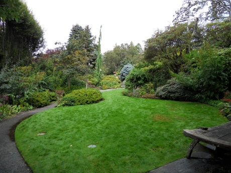 Built by and with love, Abkhazi Garden in the Fairfield neighbourhood of Victoria BC.