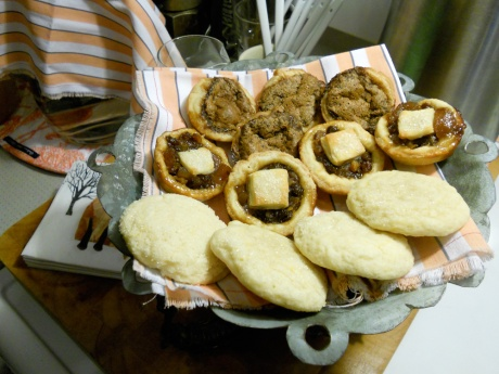 Butter tarts, mincemeat tarts and lemon sugar cookies; I haven't quite let go of the festive season!